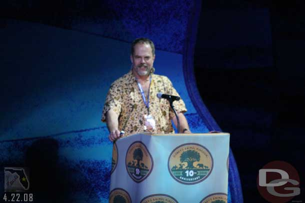 Disney's Animal Kingdom 10th Anniversary -Joe Rodhe