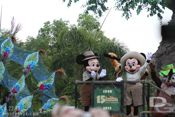 Disney Animal Kingdom 15th Anniversary Celebration