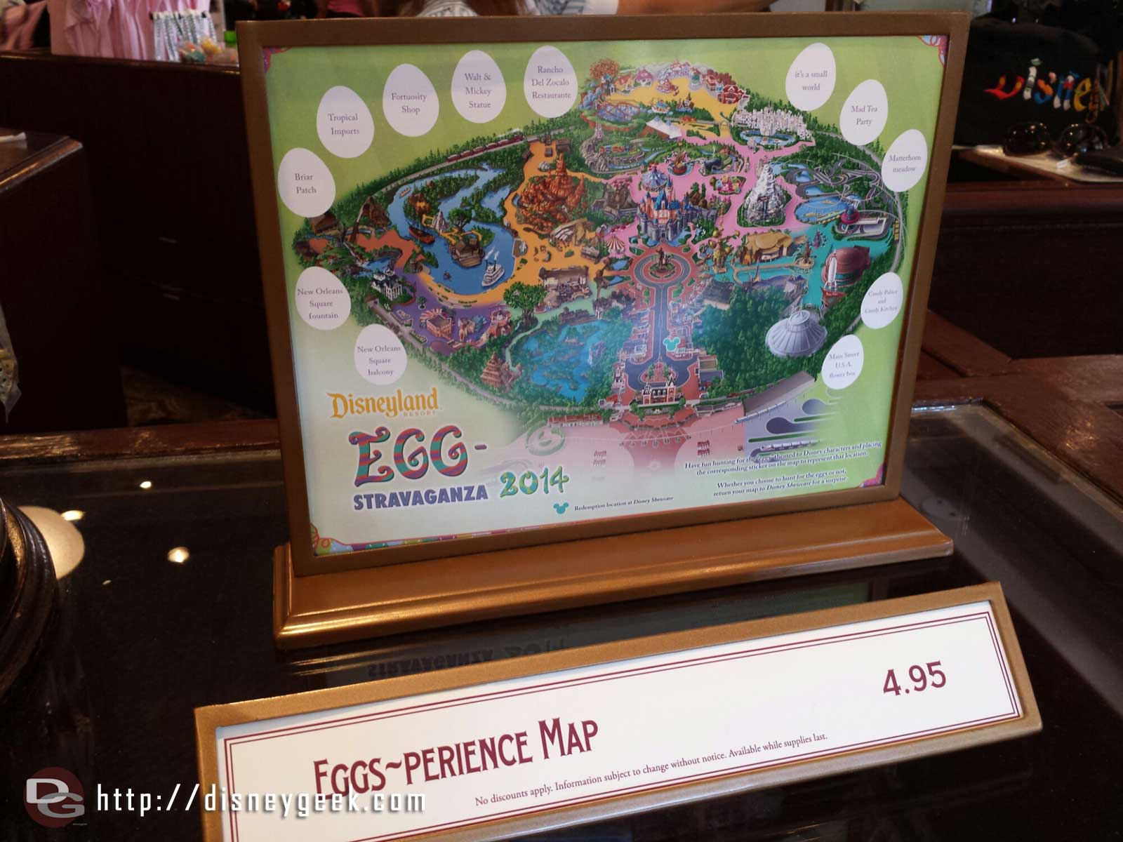 An Easter egg hunt kicked off yesterday.  Here is the #Disneyland map, DCA has its own