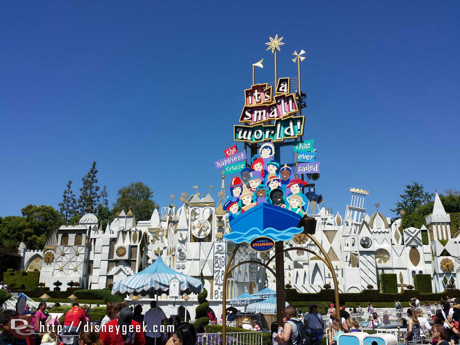 It's a small world has reopened for a couple weeks, yesterday they celebrated the 50th Anniversary of the attraction.  It opened 4/22/1964 @ the World's Fair in NY