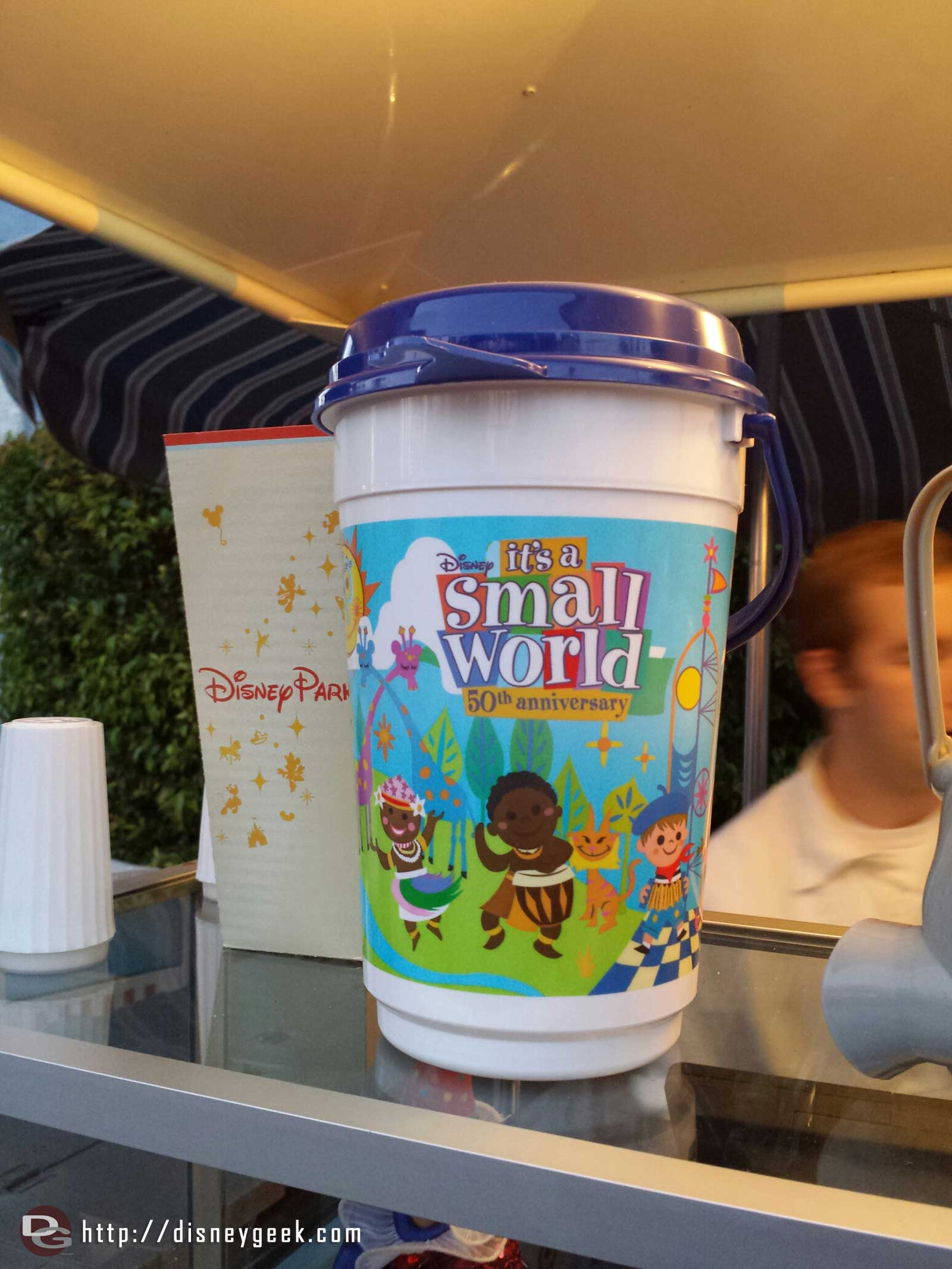 50th Anniversary its a small world popcorn buckets