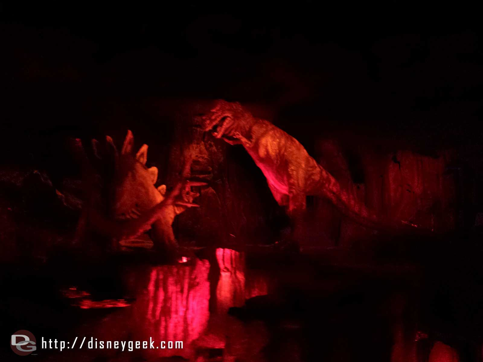 Primeval World Diorama from the Disneyland Railroad