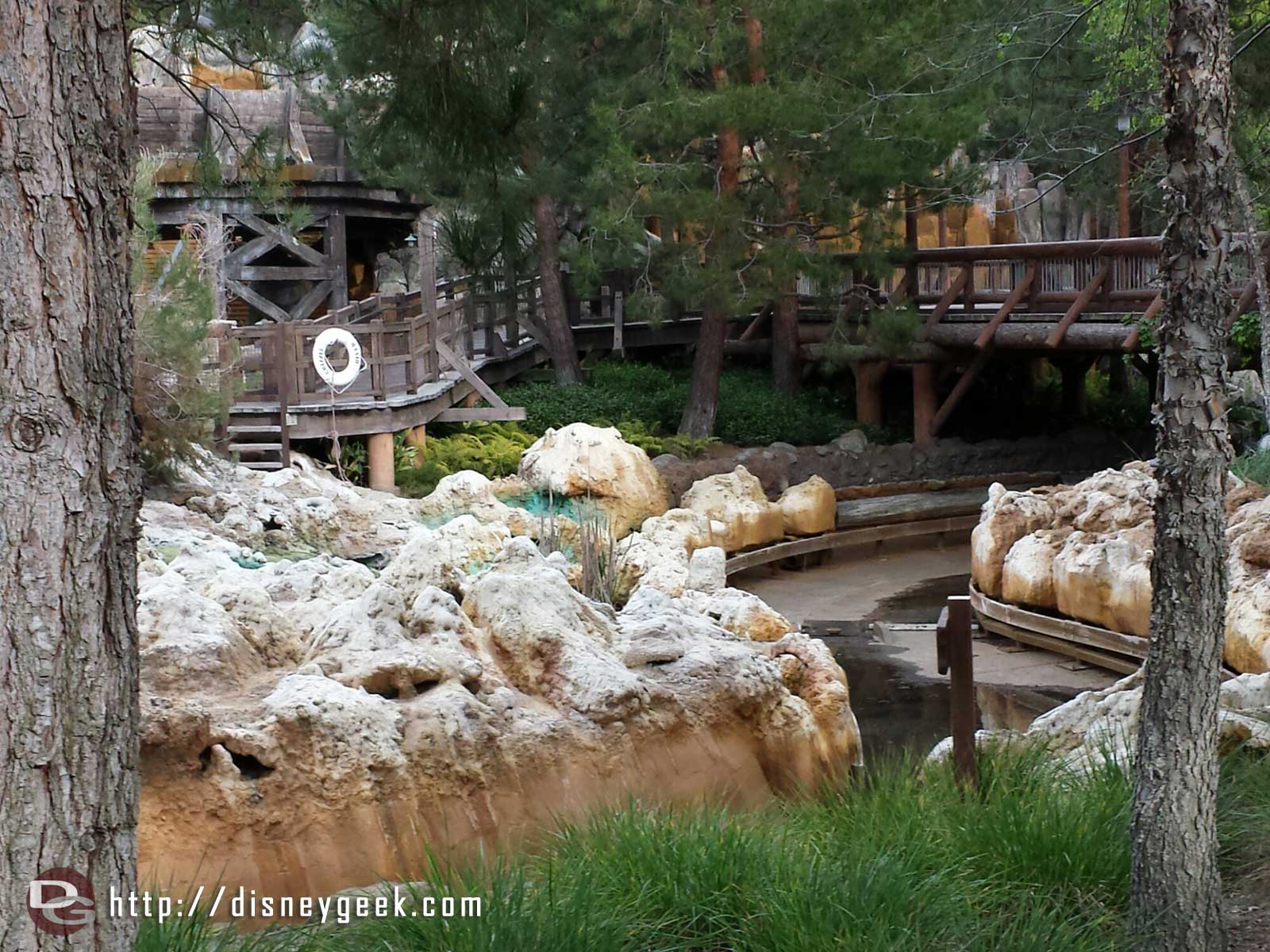 Grizzly River Run is closed for several weeks of work