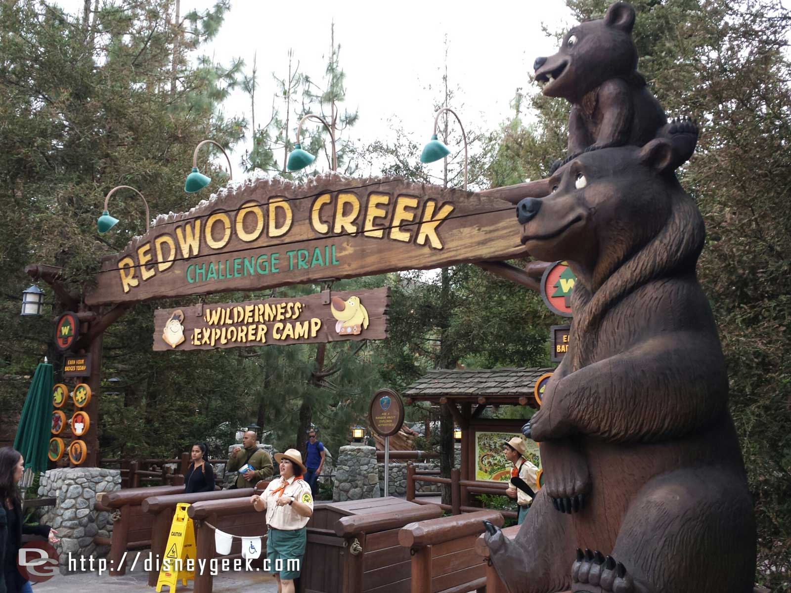 Redwood Creek has reopened since my last visit after its long closure