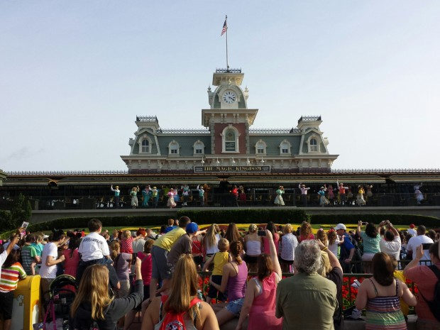The Magic Kingdom opening celebration