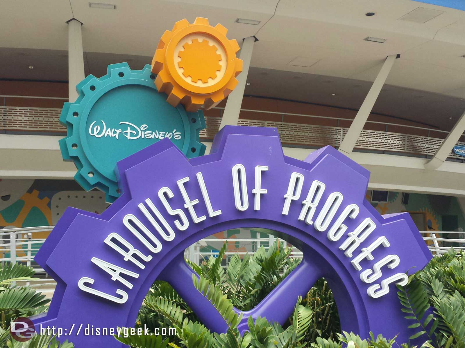 The Carousel of Progress celebrated its 50th Anniversary since opening at the New York World Fair last week.