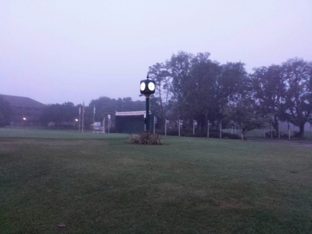 Arrived at Disney's Oak Trail Golf Course before the sun had risen today.