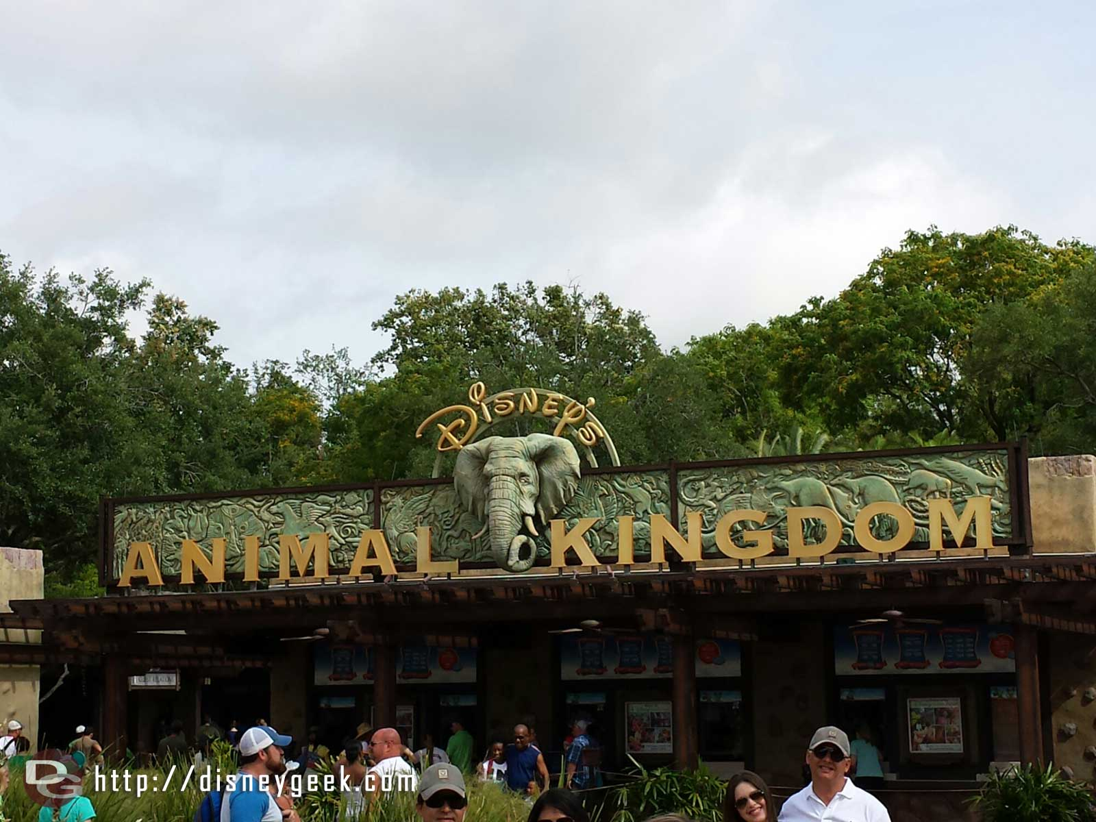 First park today Disney's Animal Kingdom