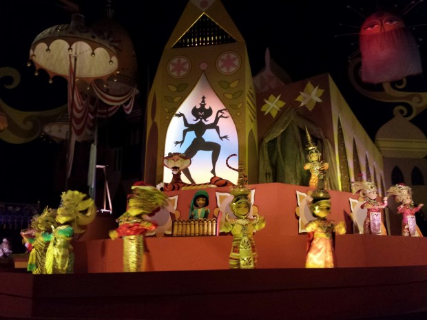 """it's a small world"" - Magic Kingdom"