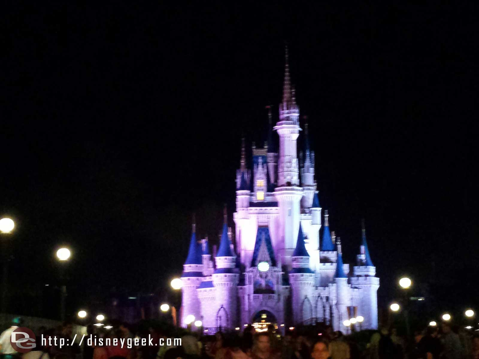 Cinderella Castle on the way out