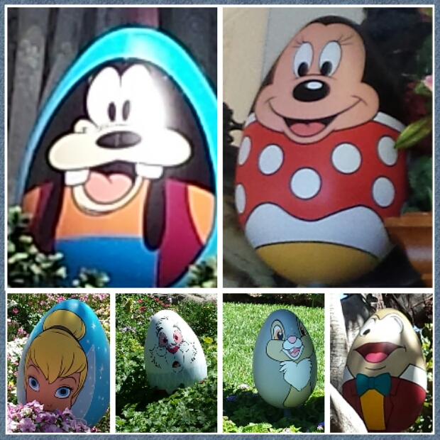 Disneyland Resort Egg-Stravaganza Character Egg Hunt (Video/Pictures)