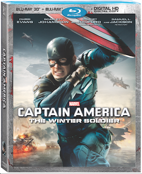 Marvel's Captain America: The Winter Soldier – on Disney Movies Anywhere on August 19th and on 3D Blu-ray Combo Pack on September 9th