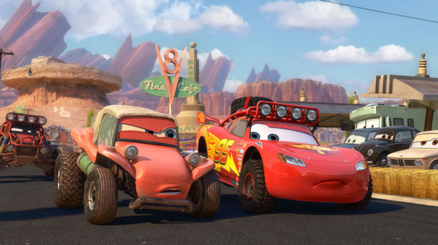Radiator Springs 500 1/2 on Disney Movies Anywhere beginning today