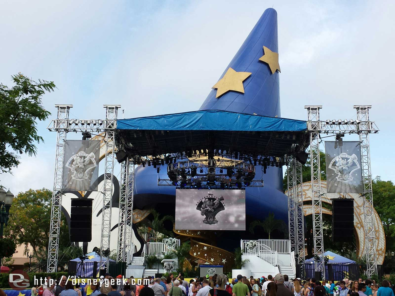 A rededication ceremony at 10am on the Sorcerer Stage – Disney's Hollywood Studios