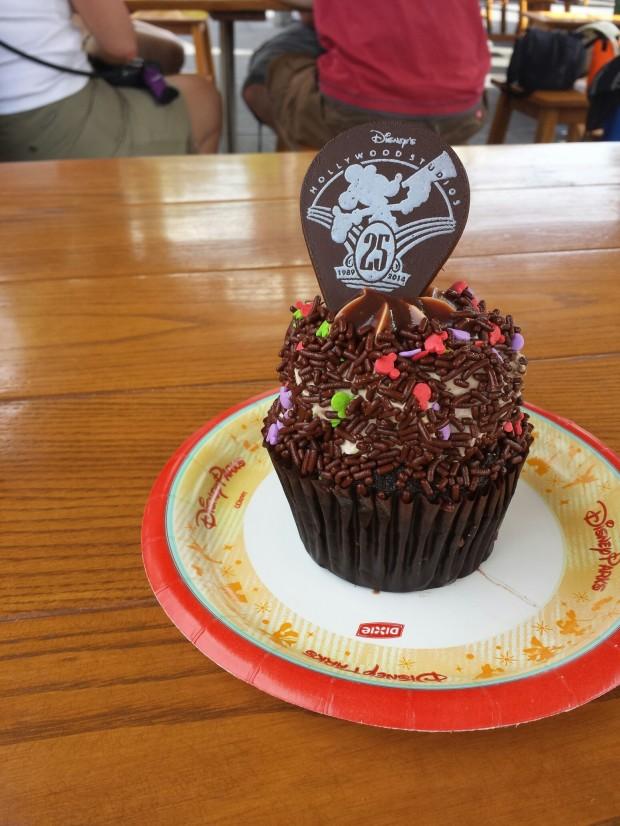 25th Anniversary Cupcake at Disney's Hollywood Studios