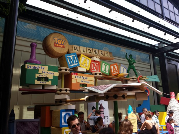 Visiting Toy Story Midway Mania
