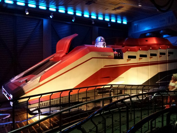 Had a Fastpass+ for Star Tours but it was not needed, it was a walk on when we visited.