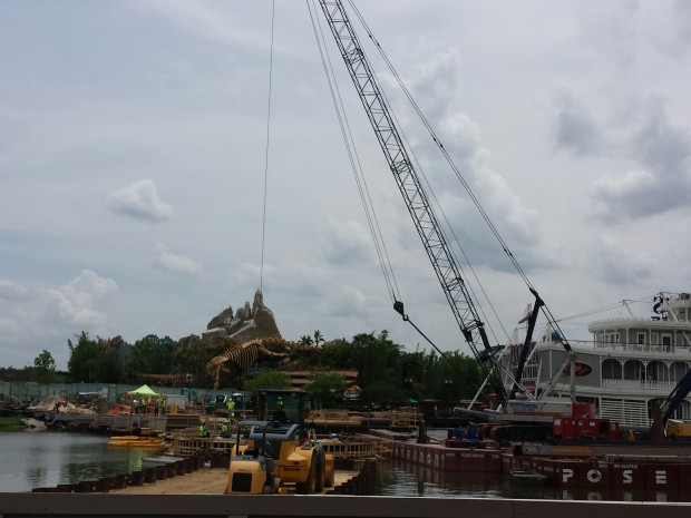 Another bridge under constuction for Disney Springs