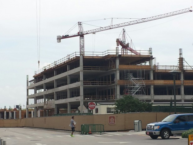The new Disney Springs Parking Structure is really taking shape