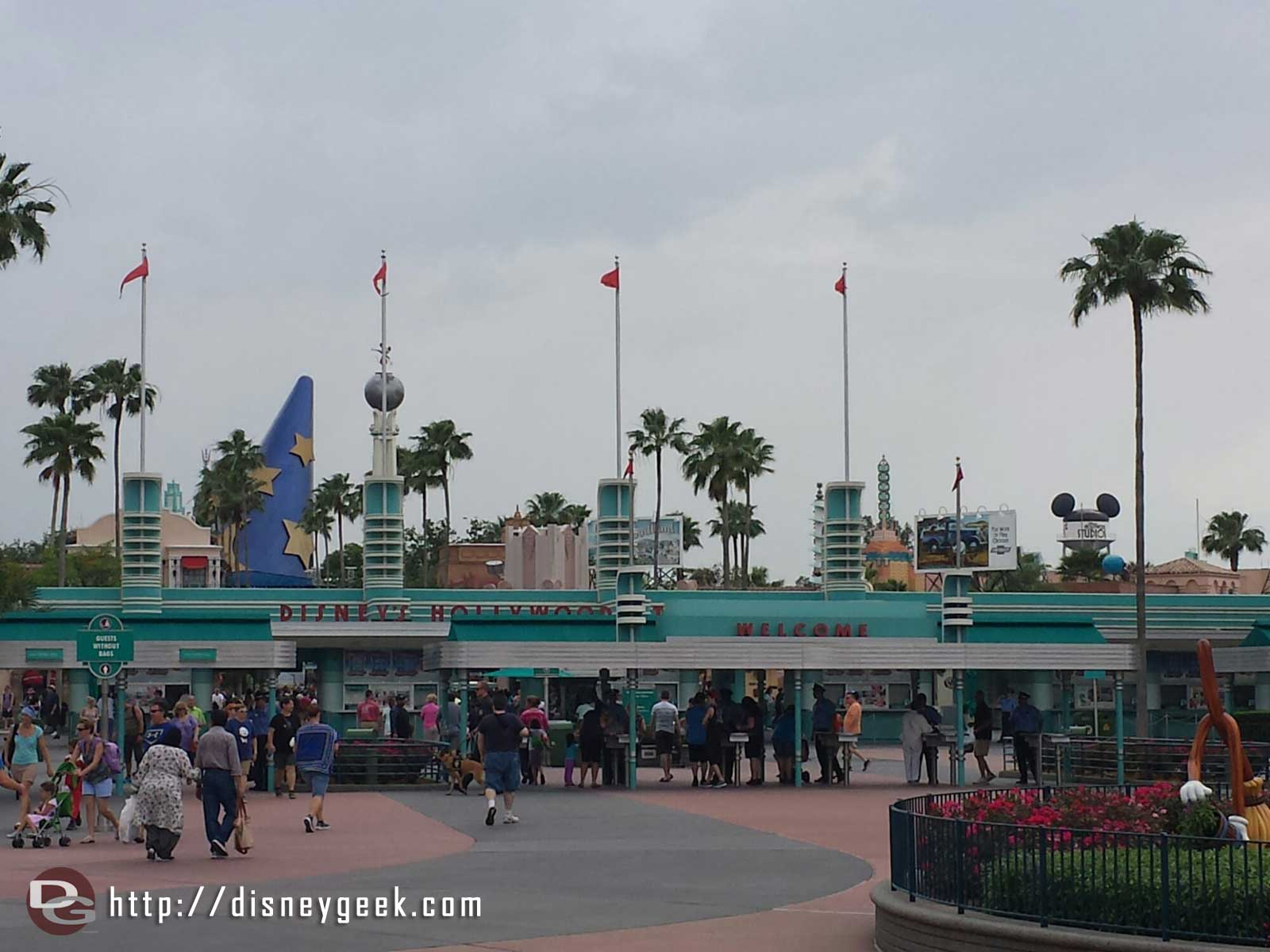 Back for the evening – Disney's Hollywood Studios