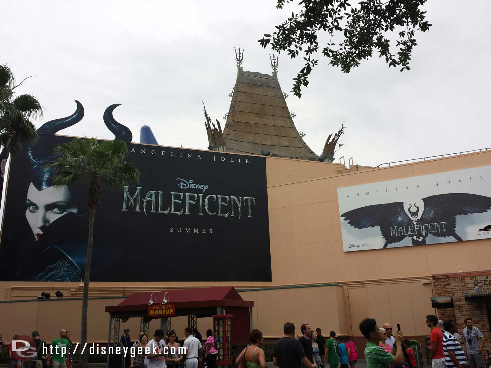 Maleficent billboards – Disney's Hollywood Studios