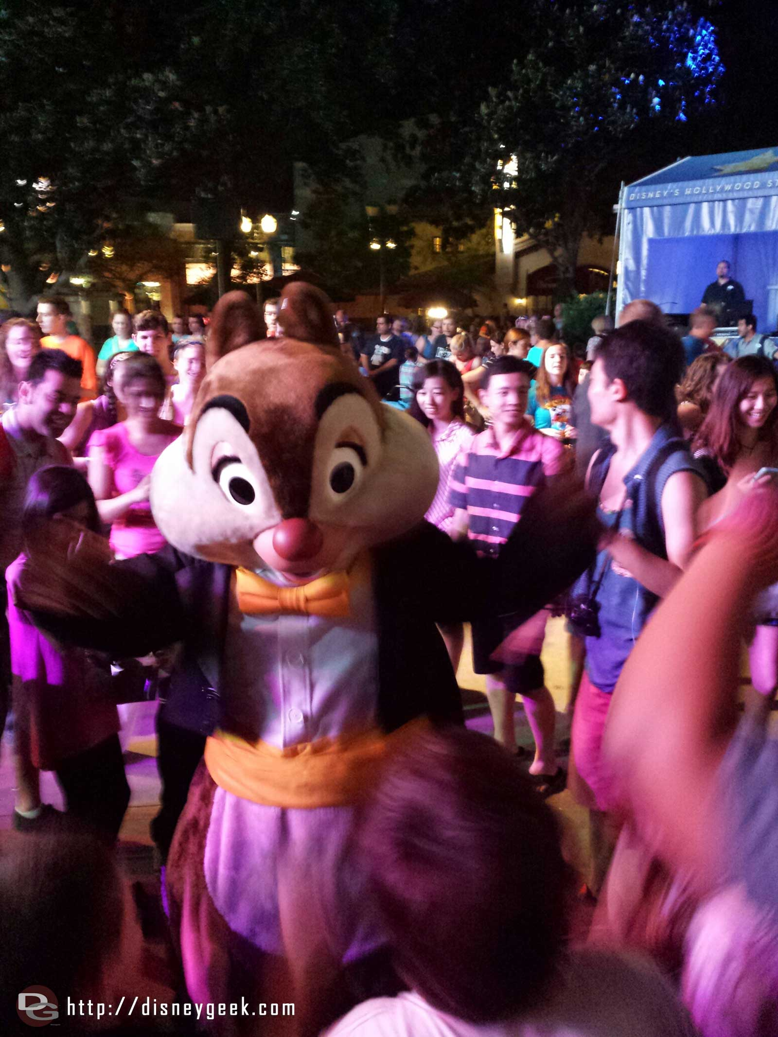 Dale @ the dance party – Disney's Hollywood Studios