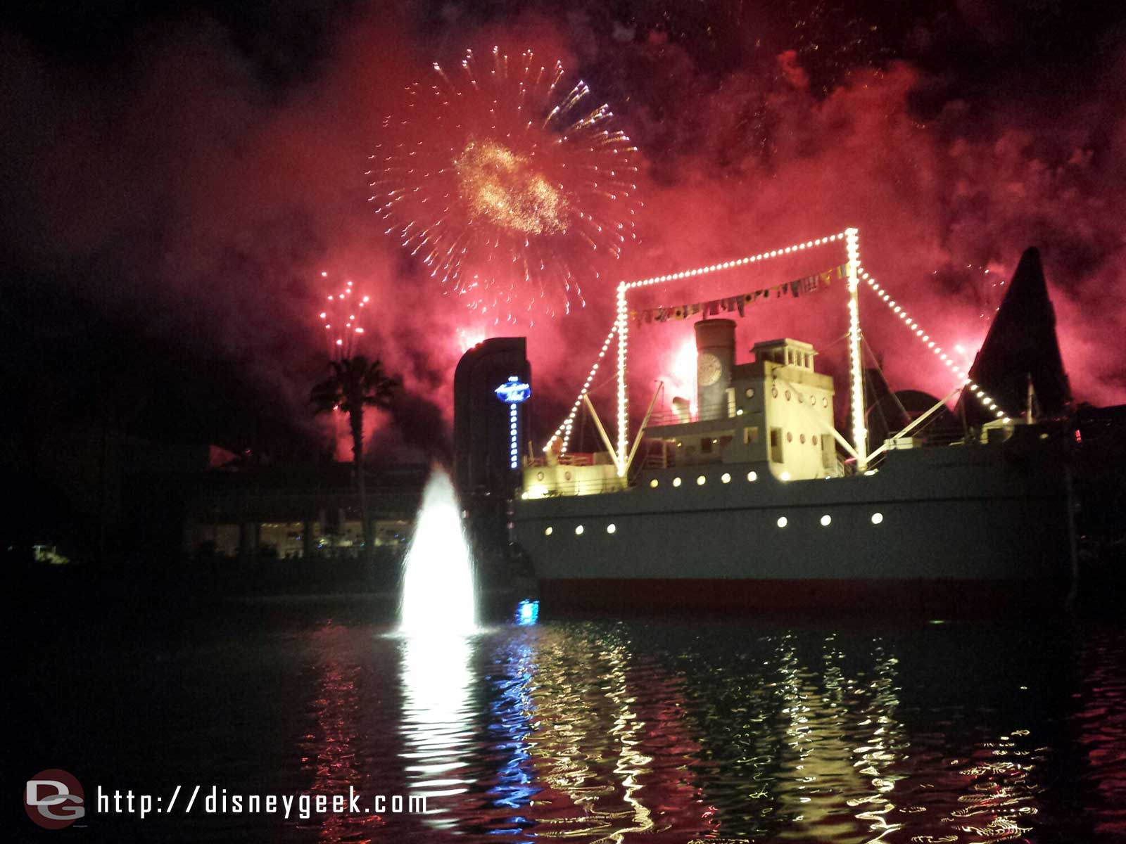 A special 25th Annivesary fireworks show at Disneys Hollywood Studios
