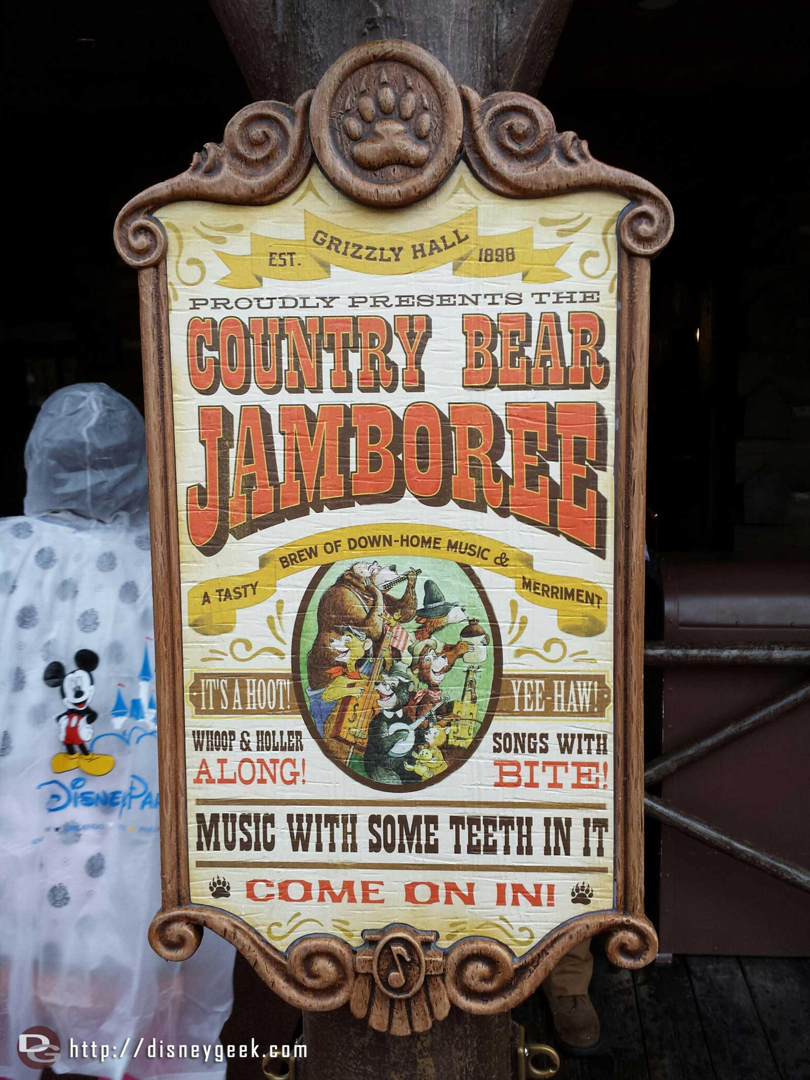 Time for the Country Bear Jamboree