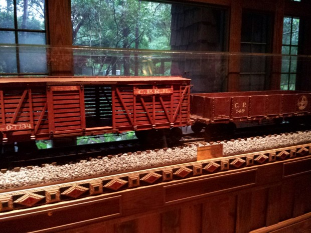 Carolwood Pacific Freight Cars at Disney's Wilderness Lodge Villas