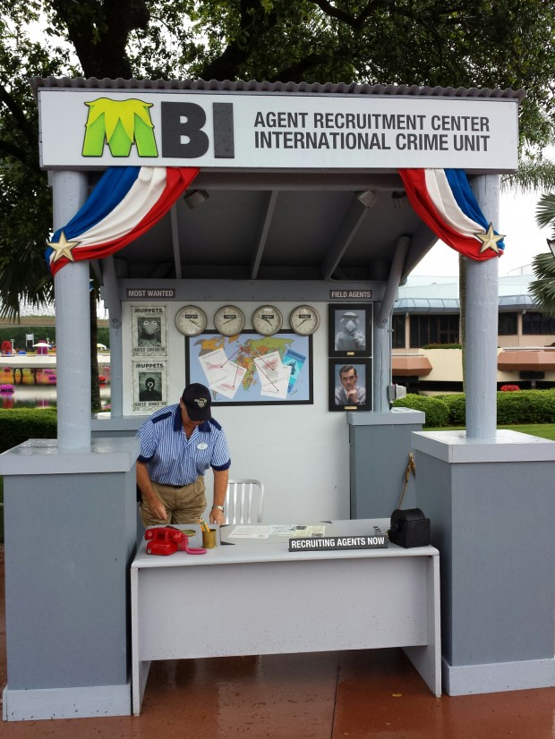 The kiosk for the MIB