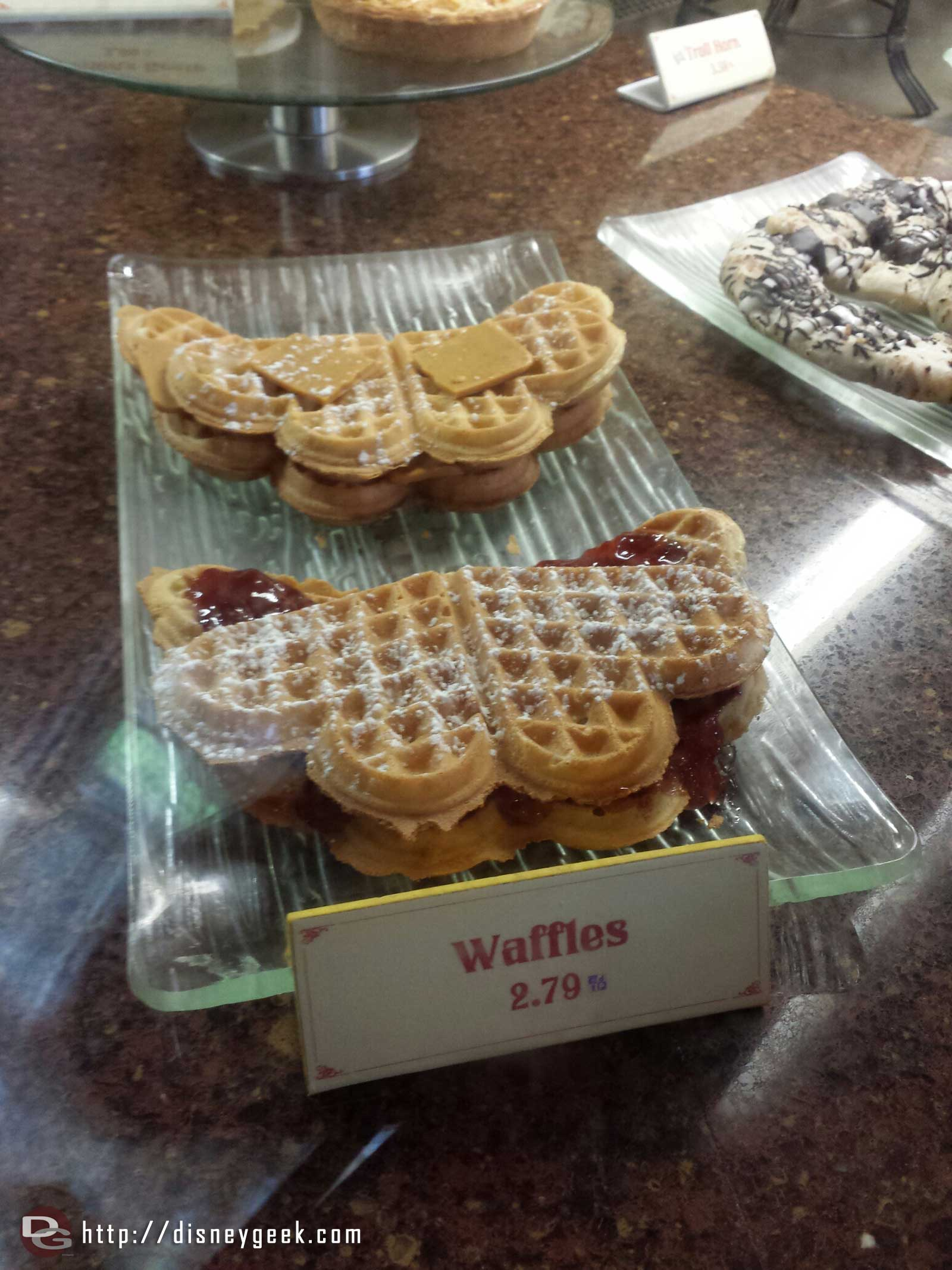 Waffles at Kringla in Norway
