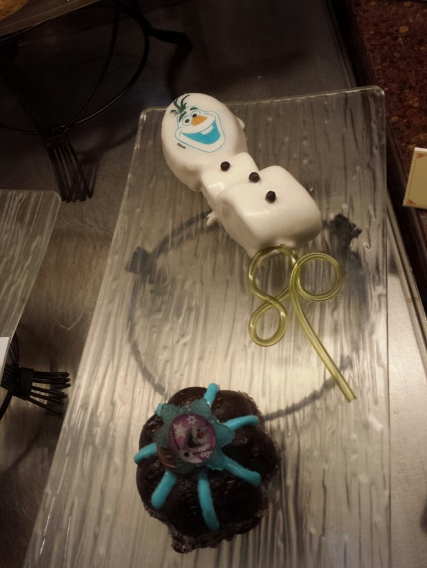 Olaf treats
