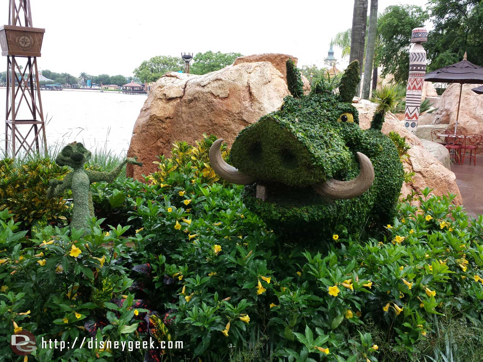Timon & Pumba –  Epcot International Flower & Garden Festival
