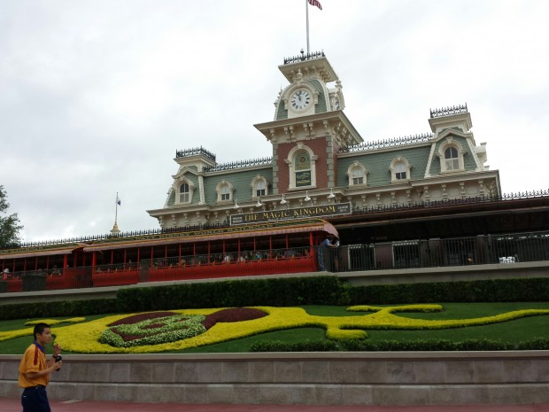 Arrvied at the Magic Kingdom just past 1pm