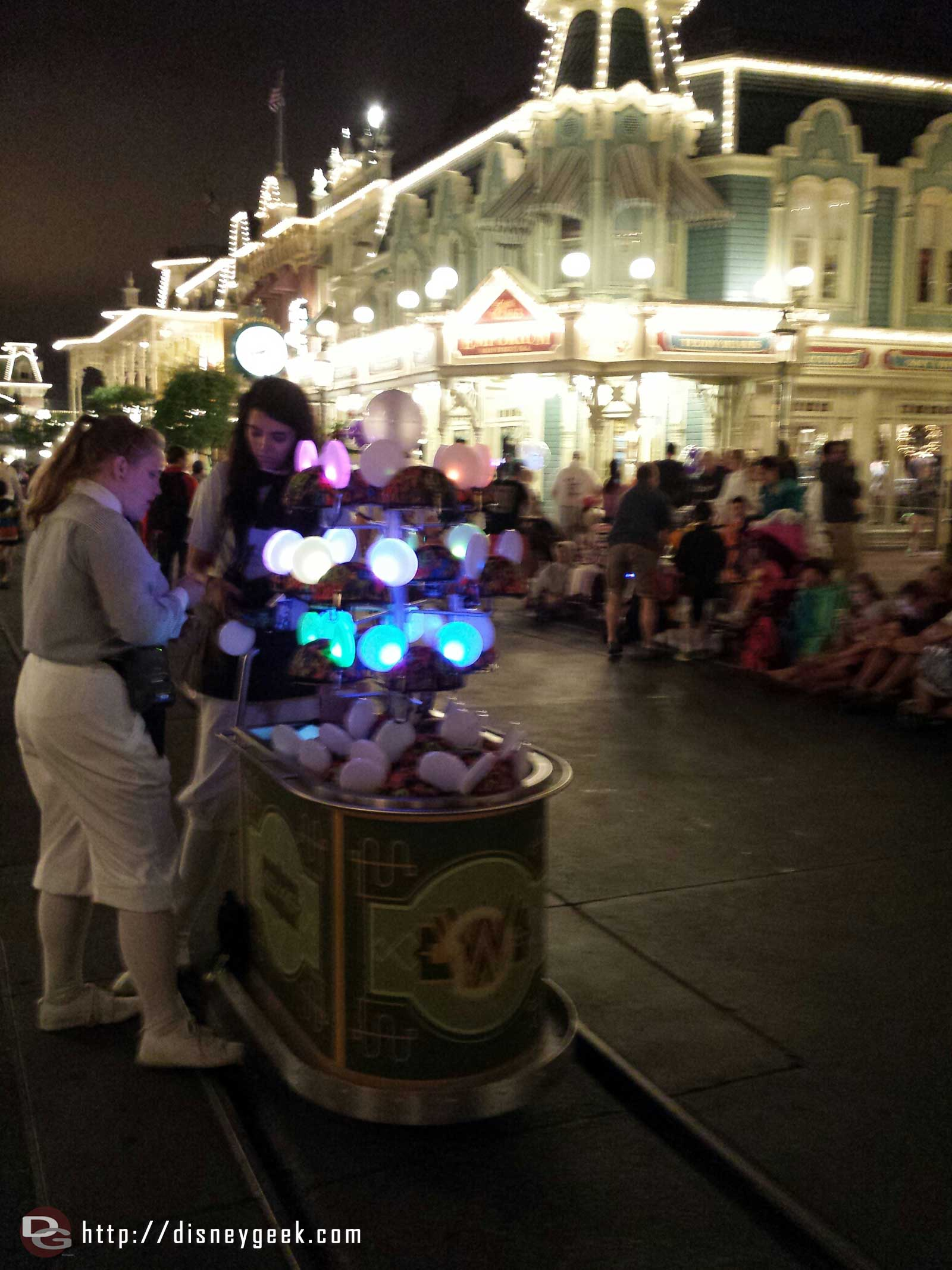 Magic Kingdom Glow With The Show Ears Cart #wdw