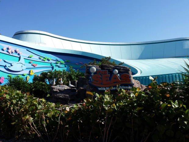 The Seas with Nemo and Friends Entrance