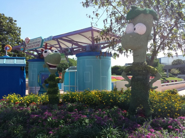Phineas & Ferb - Epcot International Flower & Garden Festival