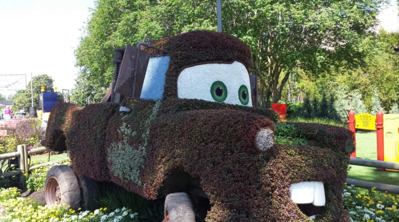 Topiary Mater - Epcot International Flower & Garden Festival