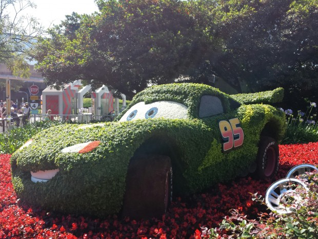 Lightning McQueen - Epcot International Flower & Garden Festival