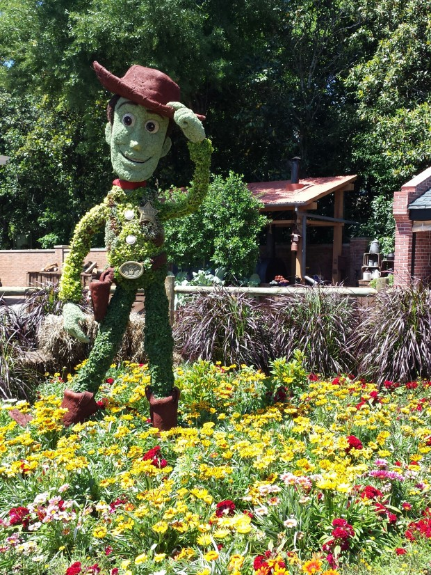 Woody - Epcot International Flower & Garden Festival