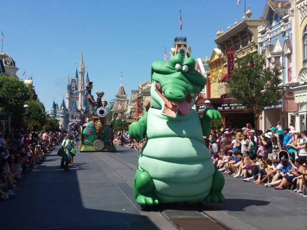 Tick-Tock in the Festival of Fantasy Parade