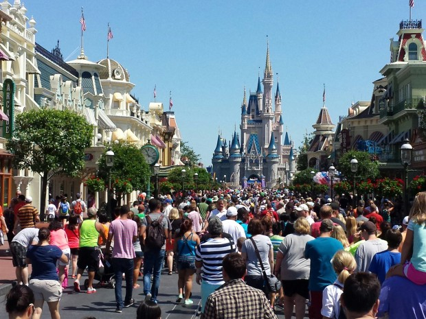 Main Street USA @ the Magic Kingdom