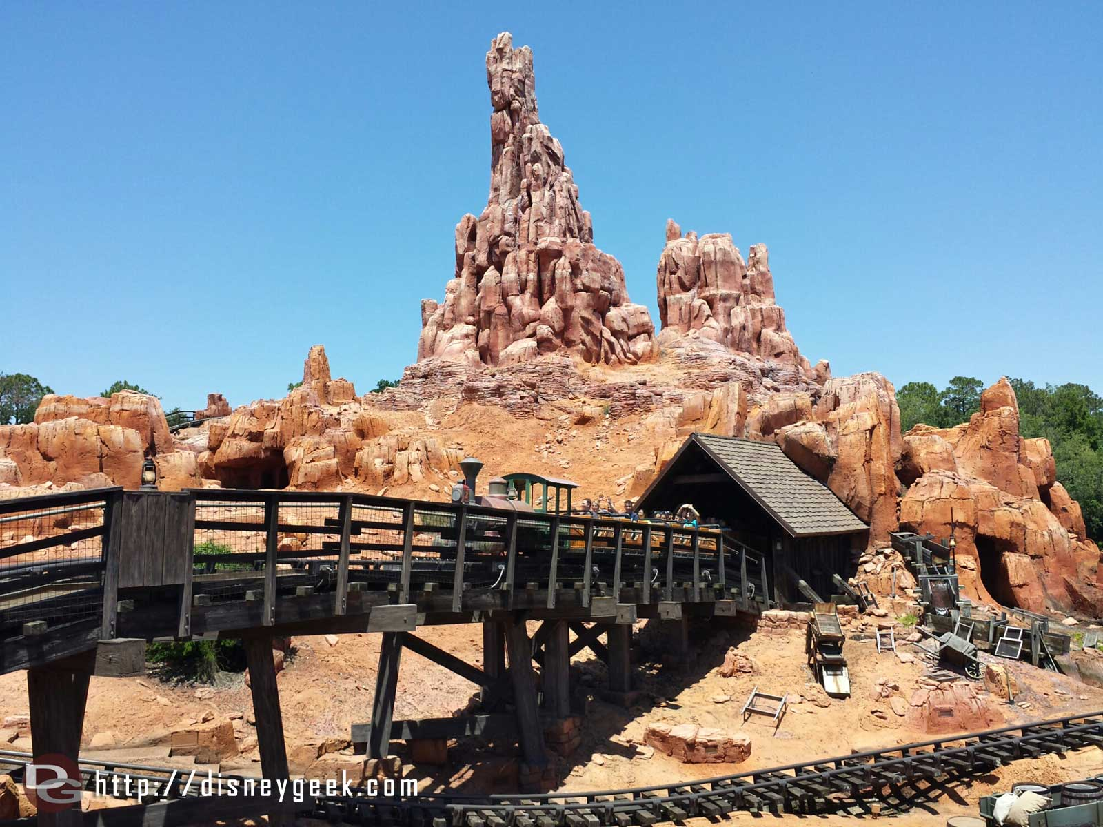 Big Thunder at the Magic Kingdom