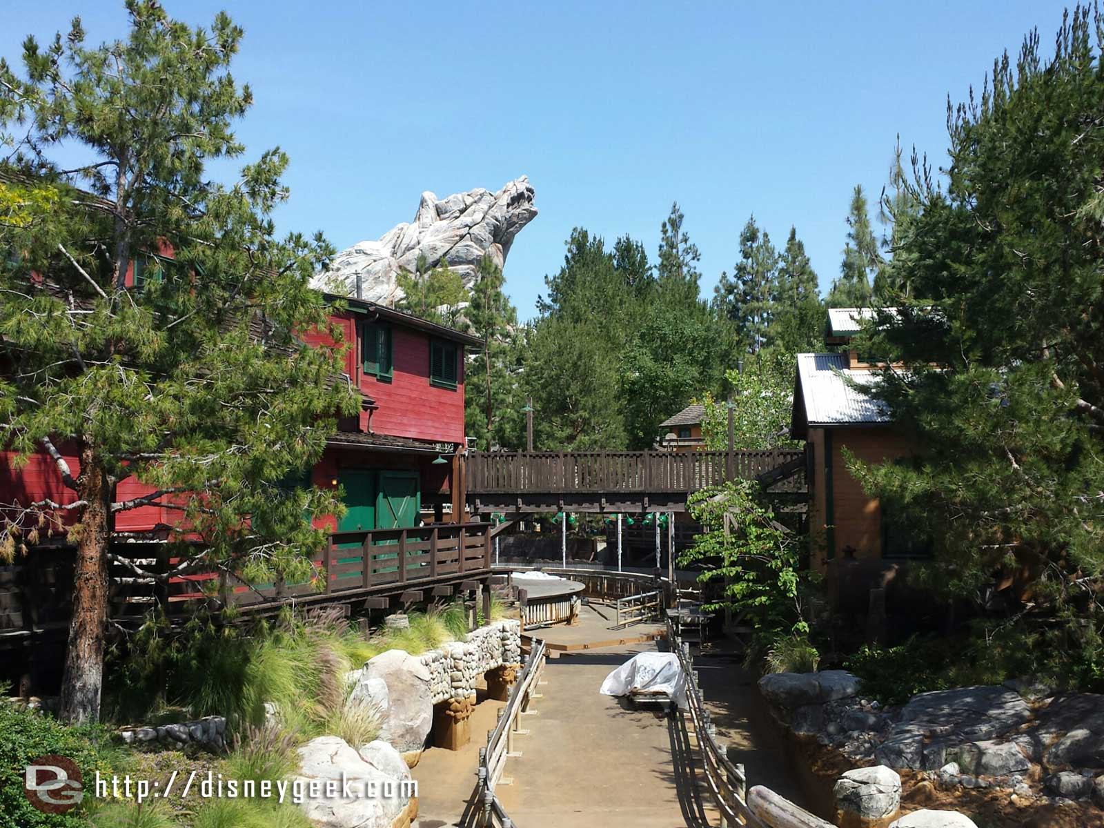 Grizzly River Run is closed still for its annual work
