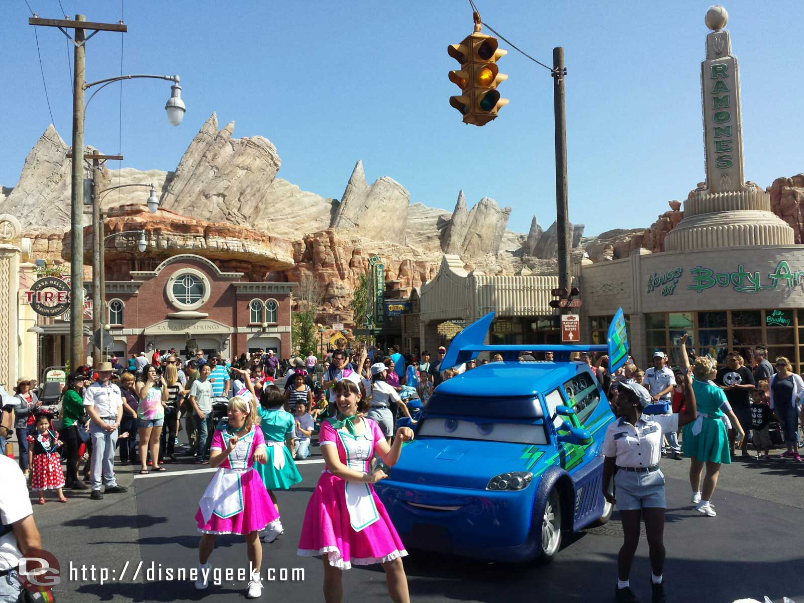 DJs Dance Party going on in #CarsLand