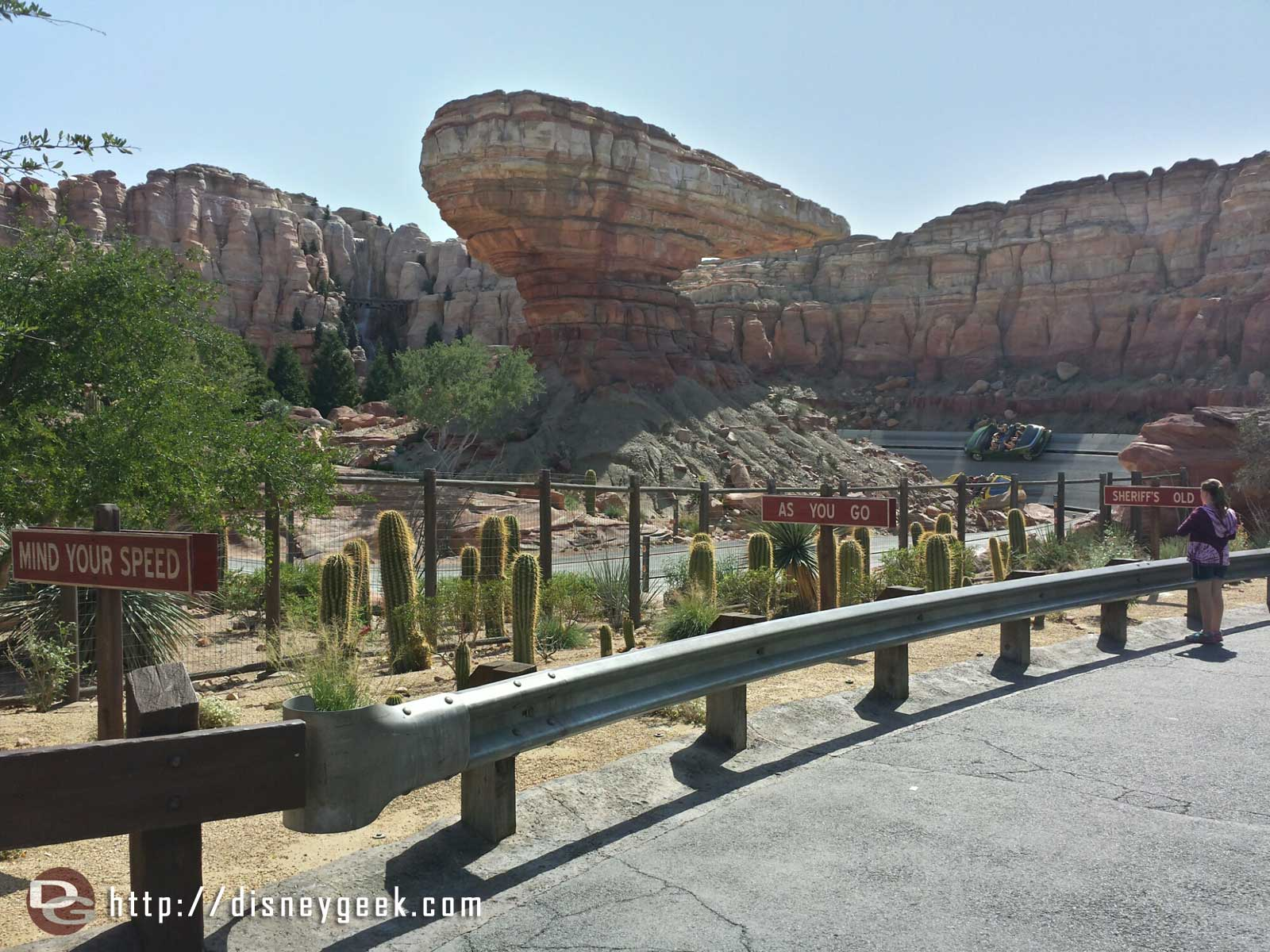 Ornament Valley only an 80min wait for the Racers #CarsLand