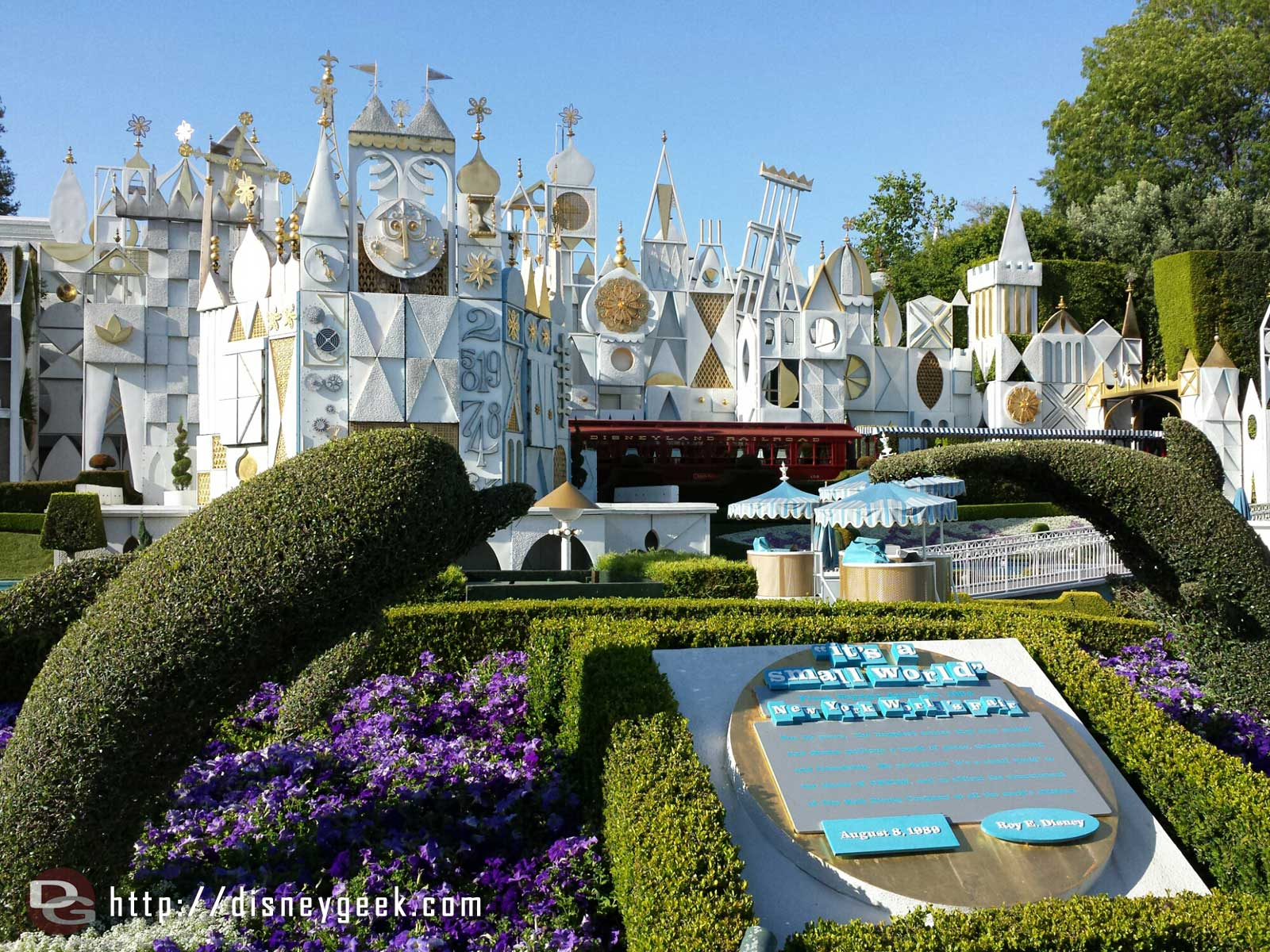 It's a small world is still closed for renovations