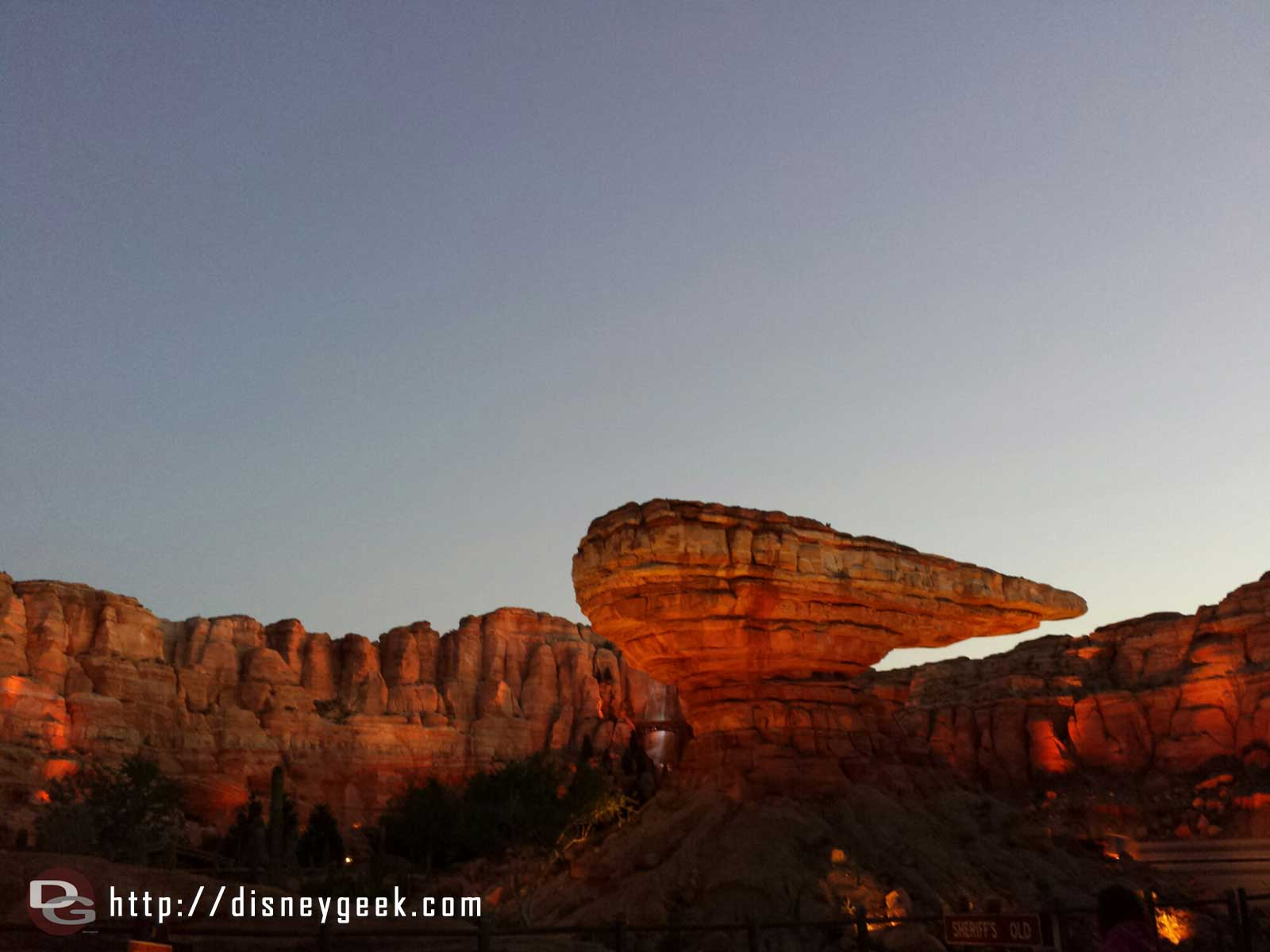 Willy's Butte Ornament Valley #CarsLand