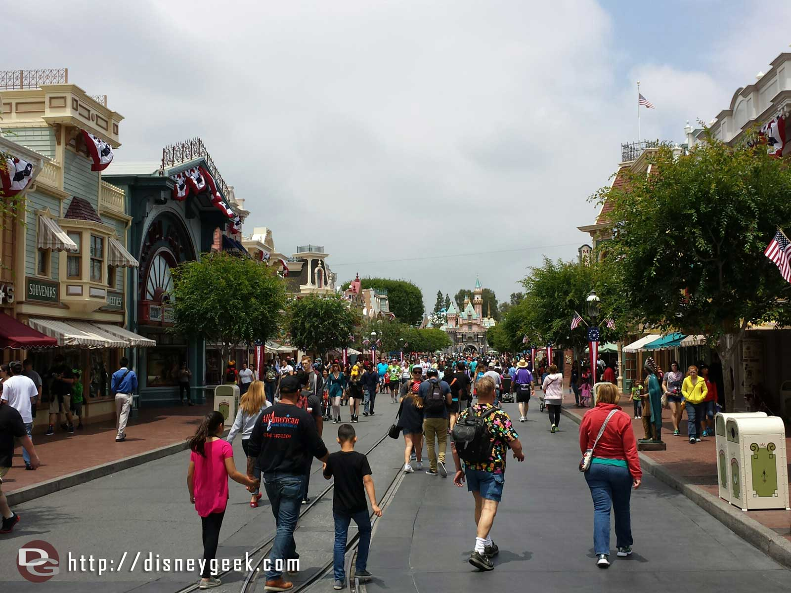 #Disneyland Main Street USA #Disney24  #DisneySide