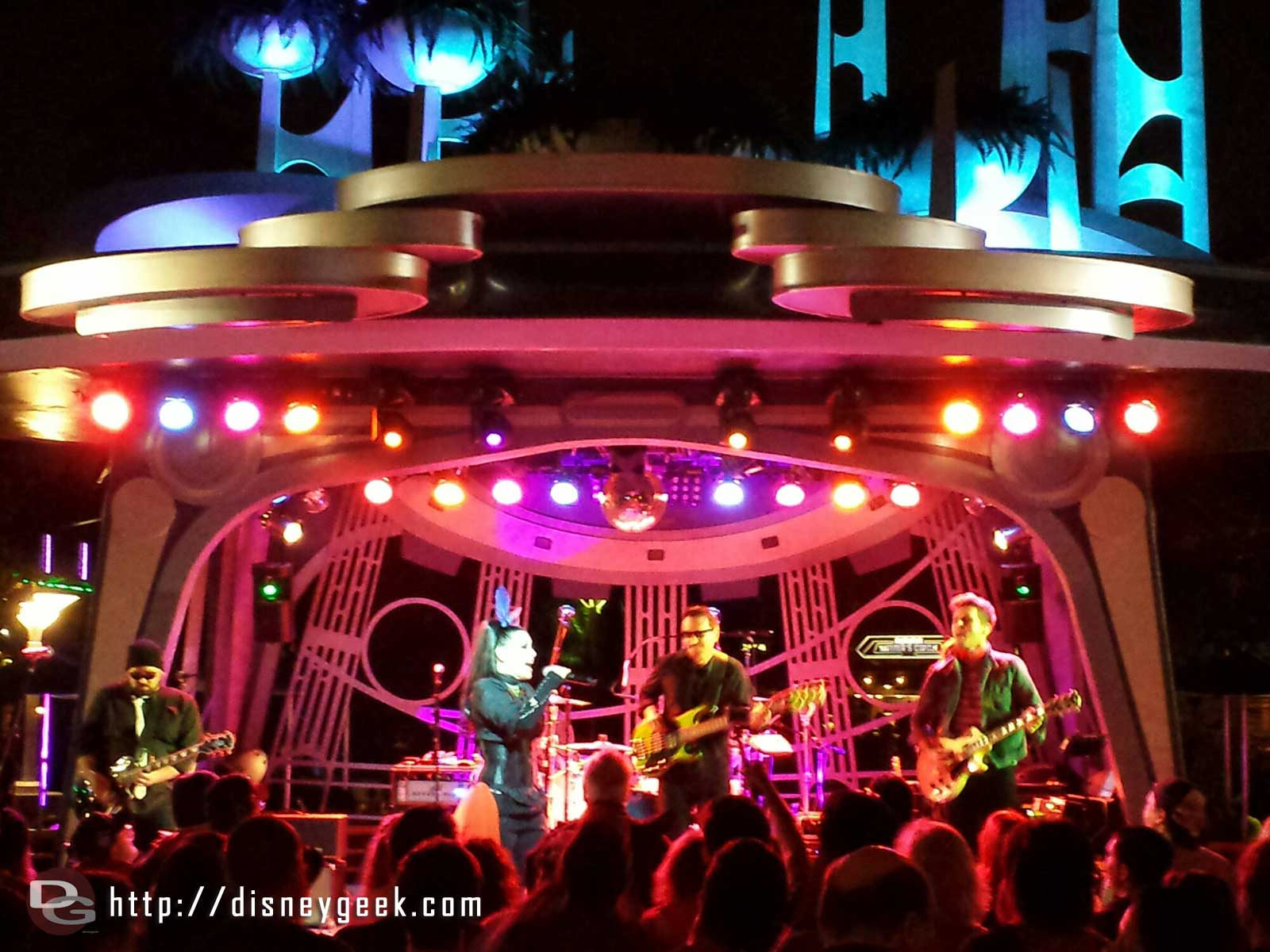 Tomasina is performing at Tomorrowland Terrace tonight